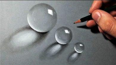 Photo of تعلم رسم قطرات ماء حقيقية بقلم رصاص