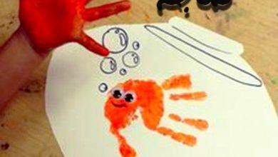 الرسم بكف اليد