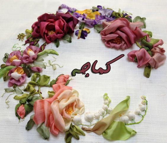Photo of دورة متكاملة لعمل جميع أنواع الورد بشرائط الساتان الخطوات بالصور