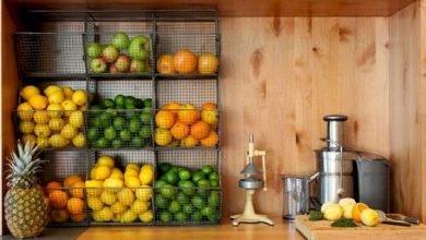 Photo of أفكار مذهلة لتخزين الفواكه و الخضروات